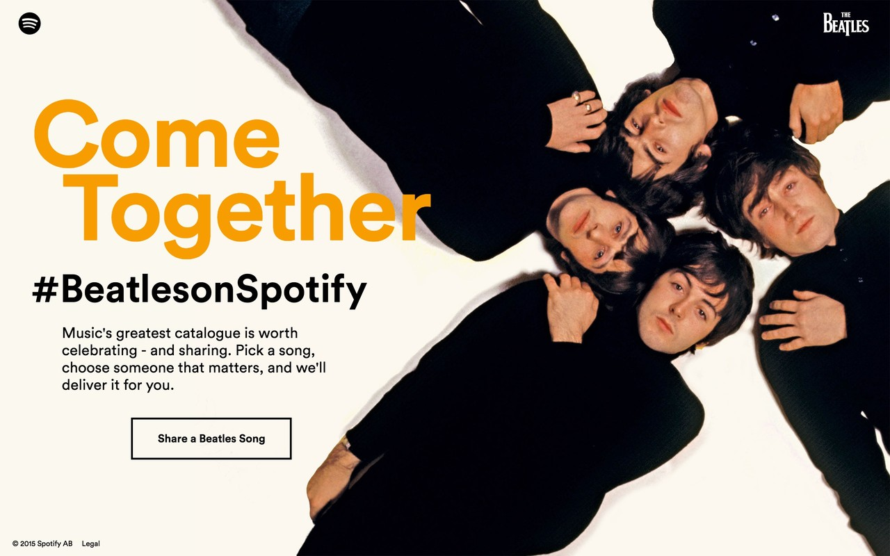 Spotify: The Beatles
