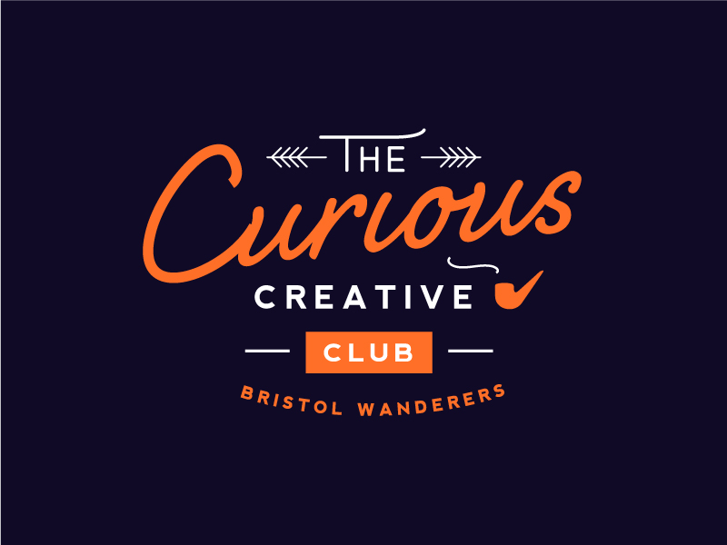"Logo ""The Curious Creatives Club"""